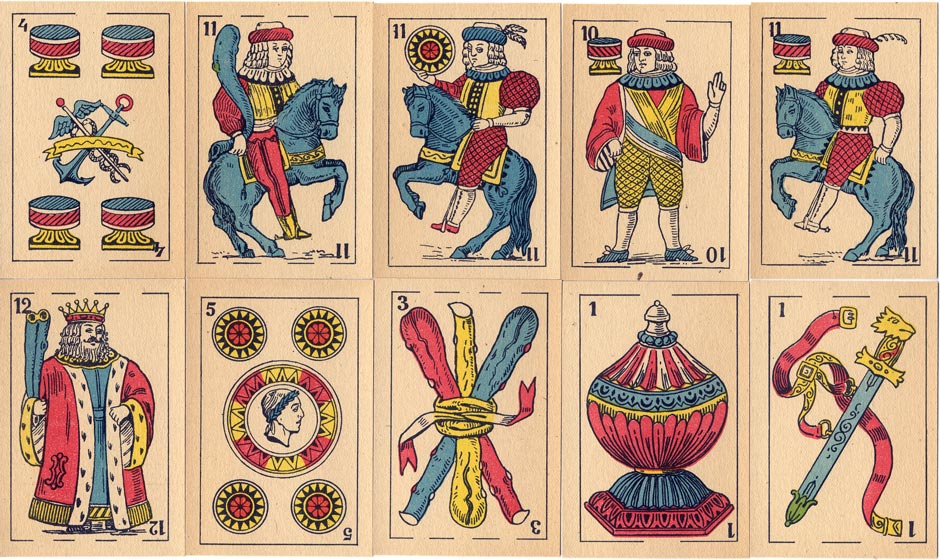 Spanish-Suited Playing-Cards, c.1920