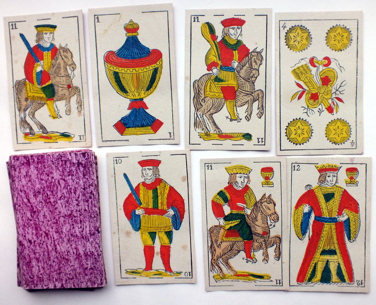 Mesmaekers Spanish-suited cards, c.1875