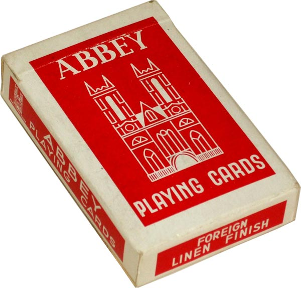Abbey Playing Cards by La Turnhoutoise, 1950s
