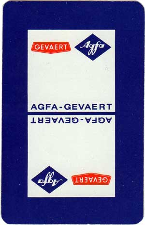 Advertising Deck for Agfa by Van Genechten