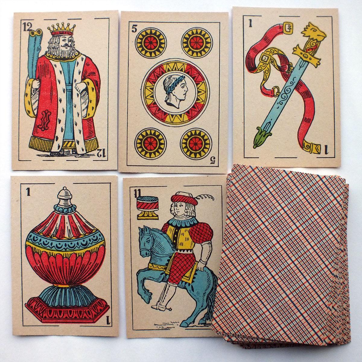 Spanish-suited Playing Cards, Van Genechten, c.1920