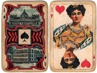 playing cards by Azevedo, Recife, c.1925