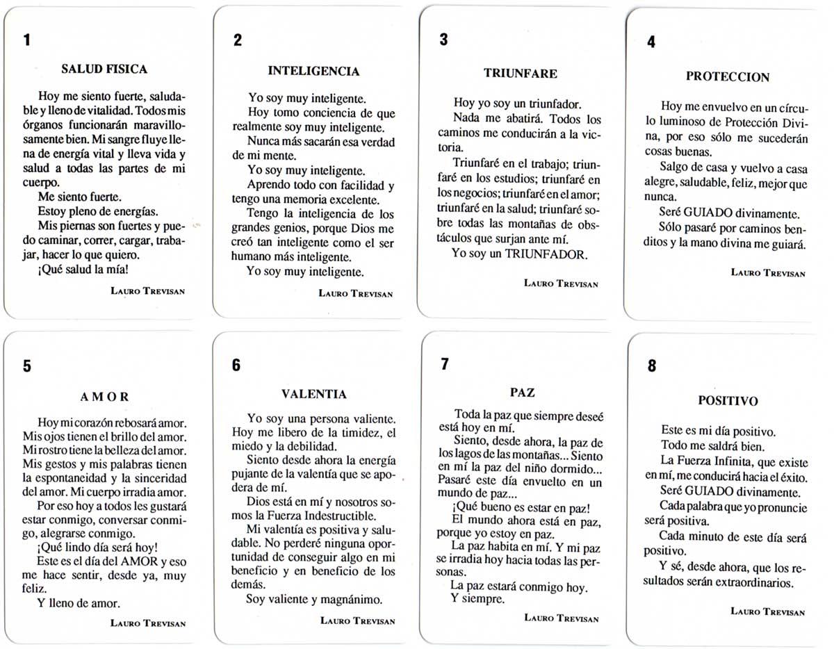 """""""Tarjetas de la Felicidad"""" published by Lauro Trevisan, 2001"""