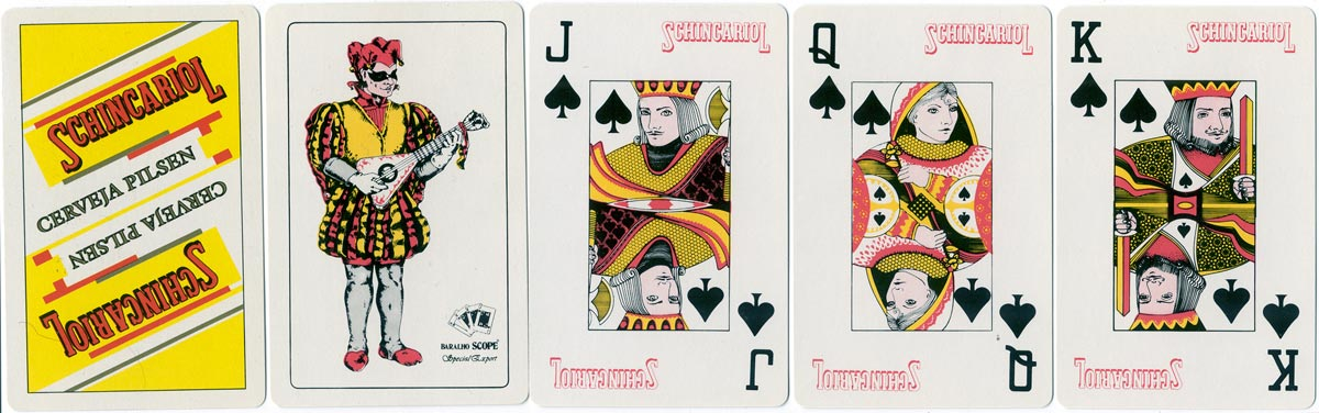Schincariol Beer advertising playing-cards, Nossagraf, Brazil