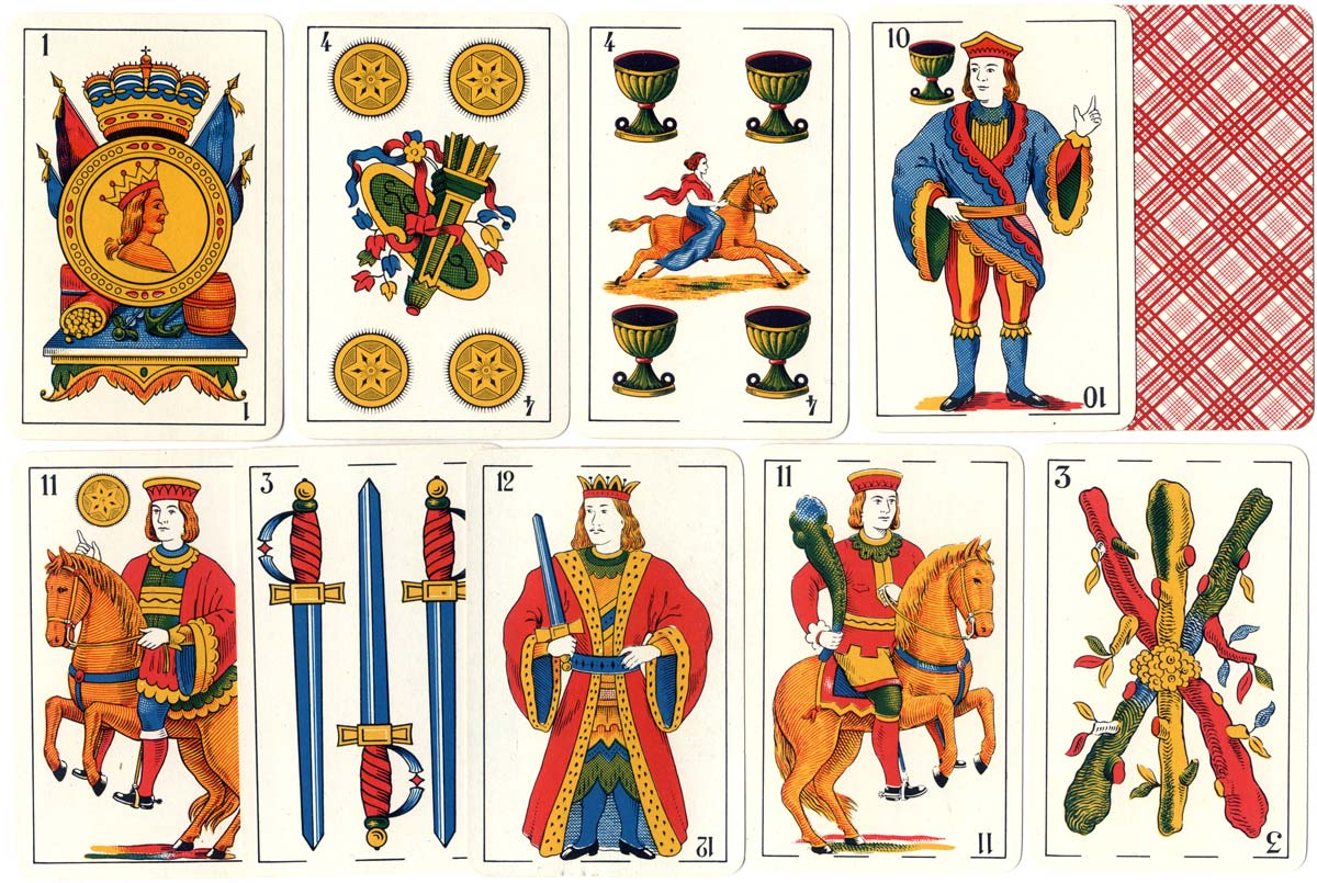 SOIMCA's standard Spanish-suited playing cards, Catalan pattern