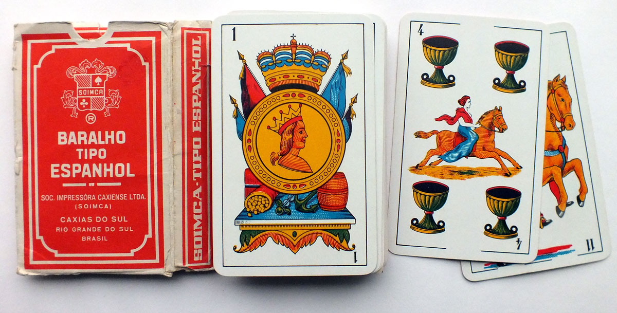 SOIMCA's standard Spanish-suited playing cards, 1975