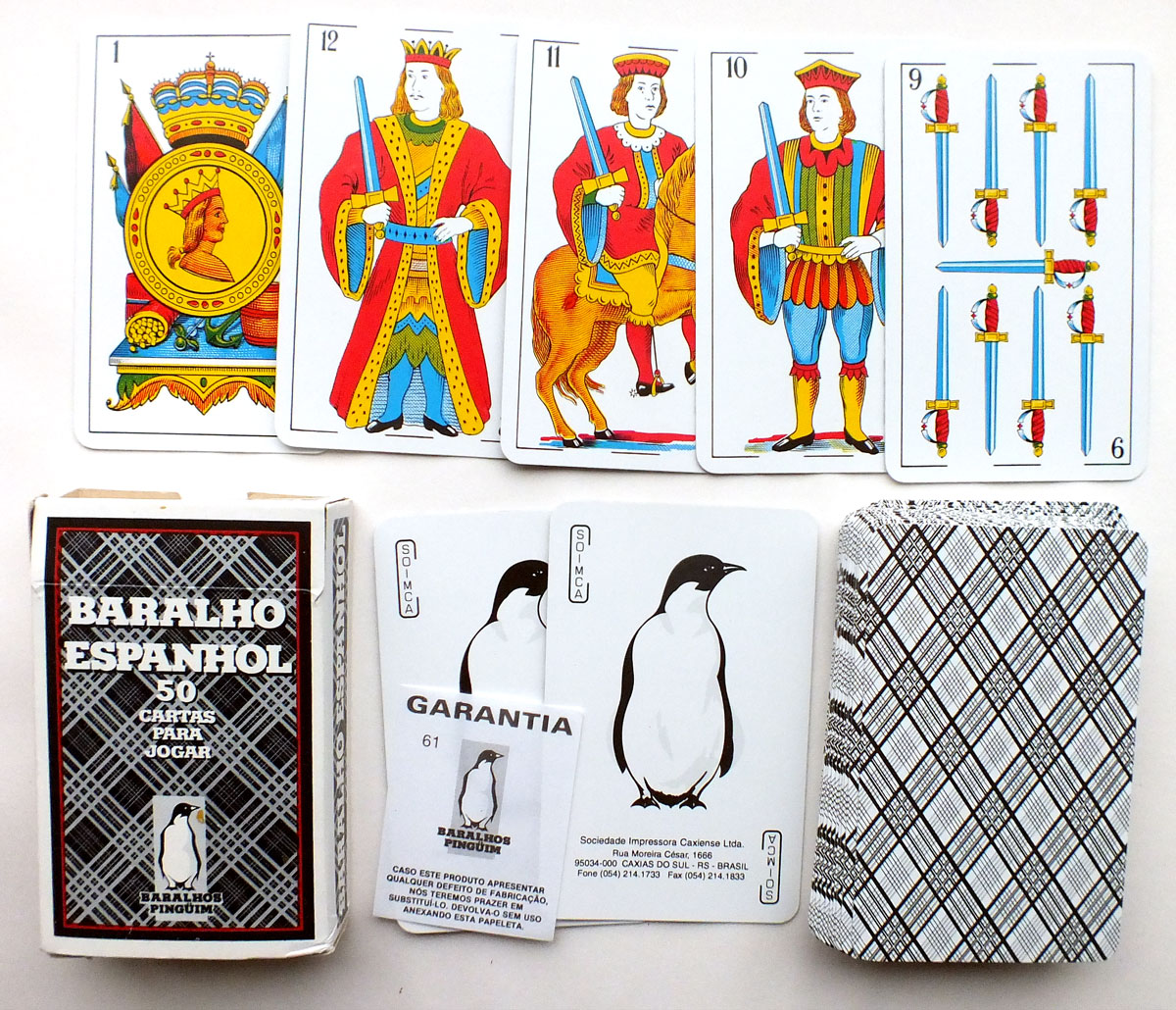 SOIMCA's standard Spanish-suited playing cards, 1999