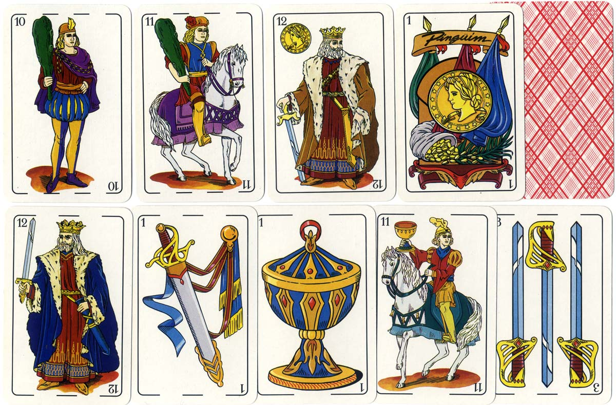 SOIMCA Spanish-suited deck designed by Gertre, 1993