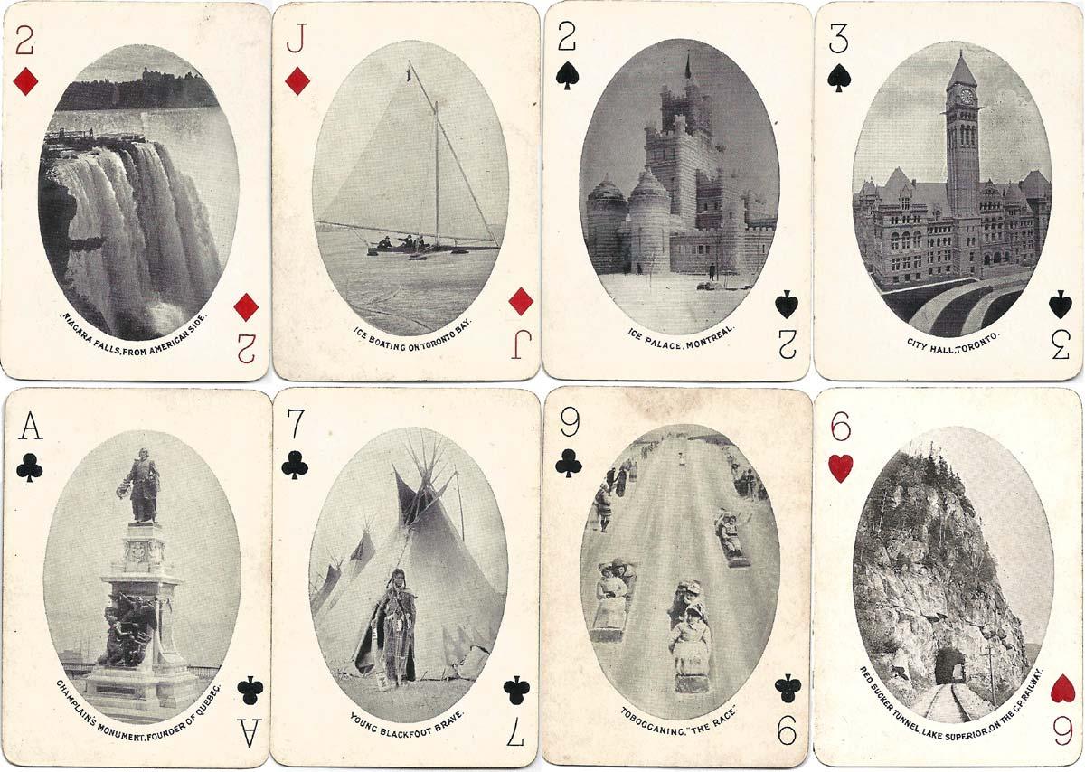 """Ocean to Ocean"" Canadian Pictorial Souvenir pack by Chas Goodall & Son Ltd, c.1912"