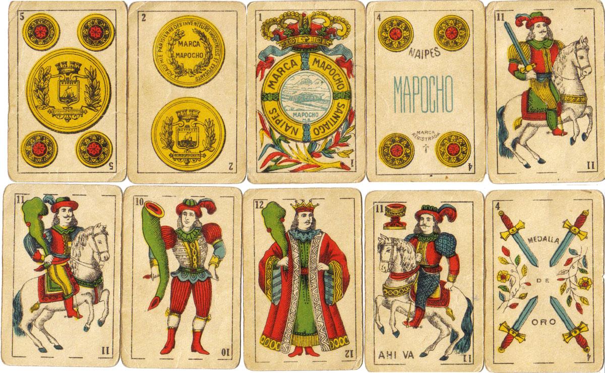 Naipes Marca Mapocho, Santiago