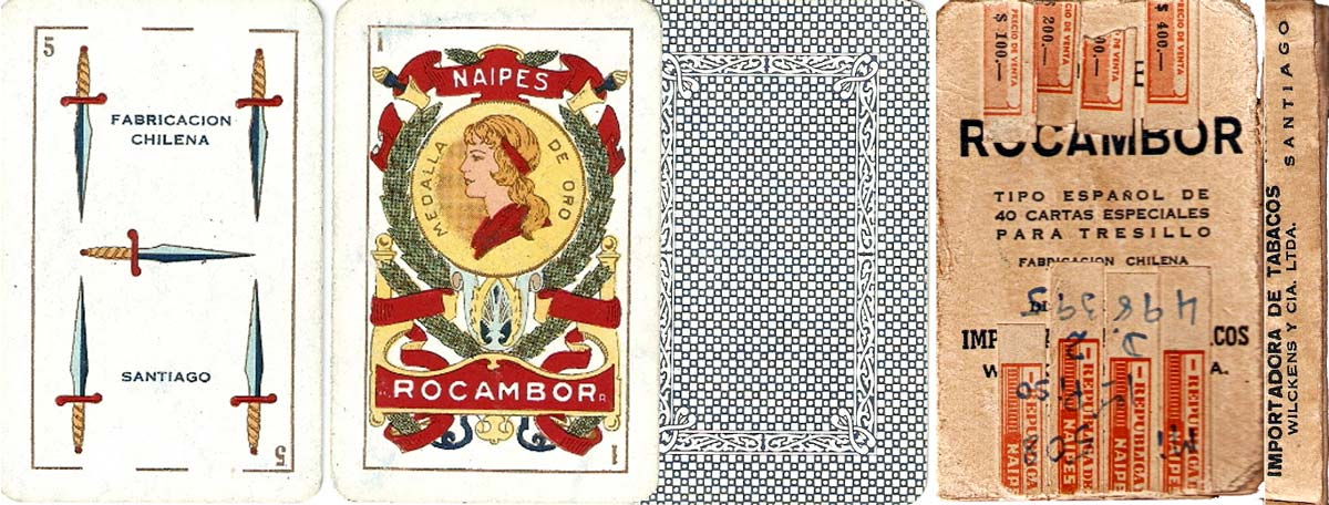 Naipes Rocambor