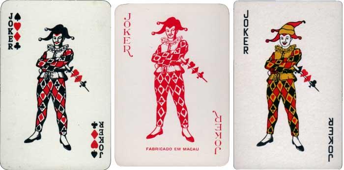 De la Rue joker and anonymous copies