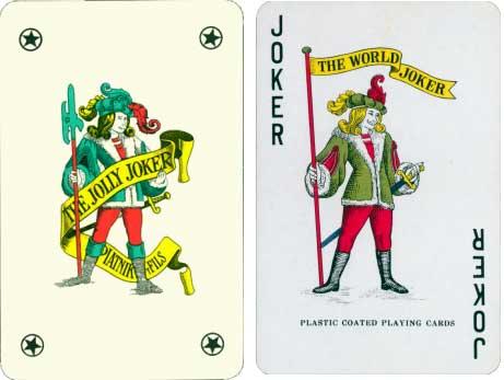 Piatnik joker and anonymous copy
