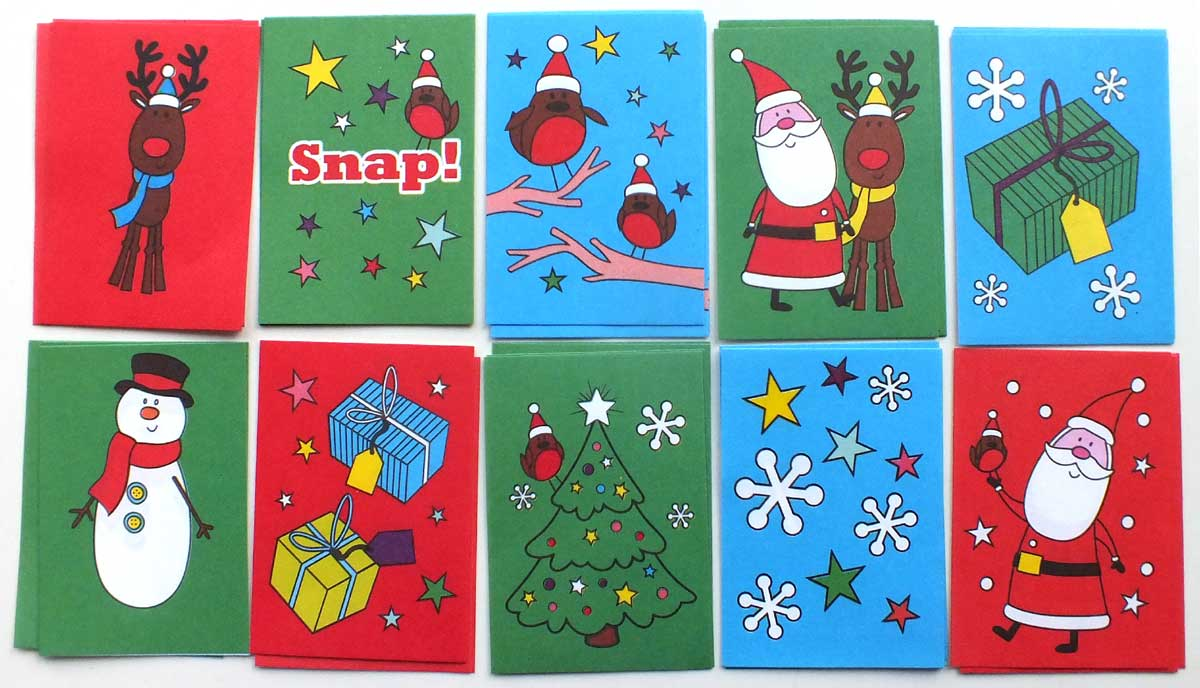 """Christmas Snap Cards"", 2017"