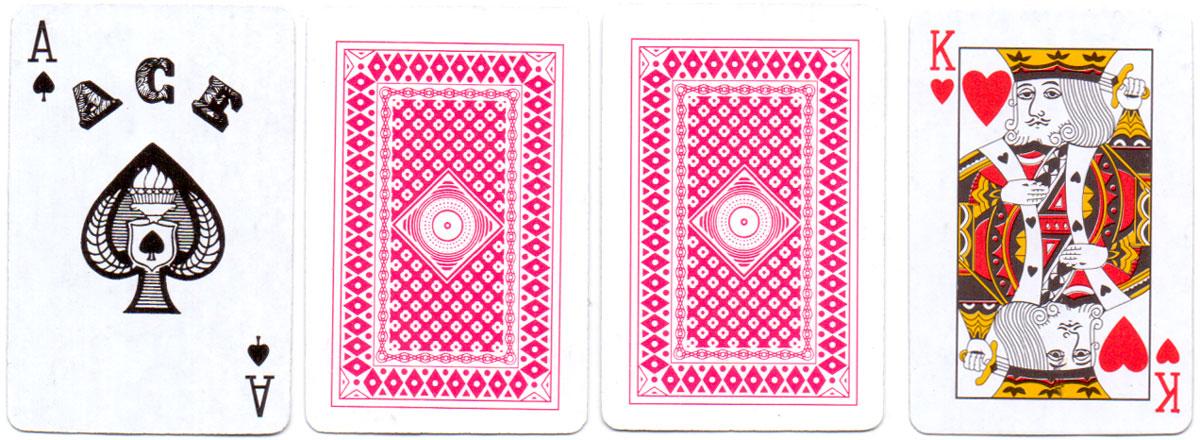 """Magic Poker Cards"" found inside Christmas cracker, 2014"