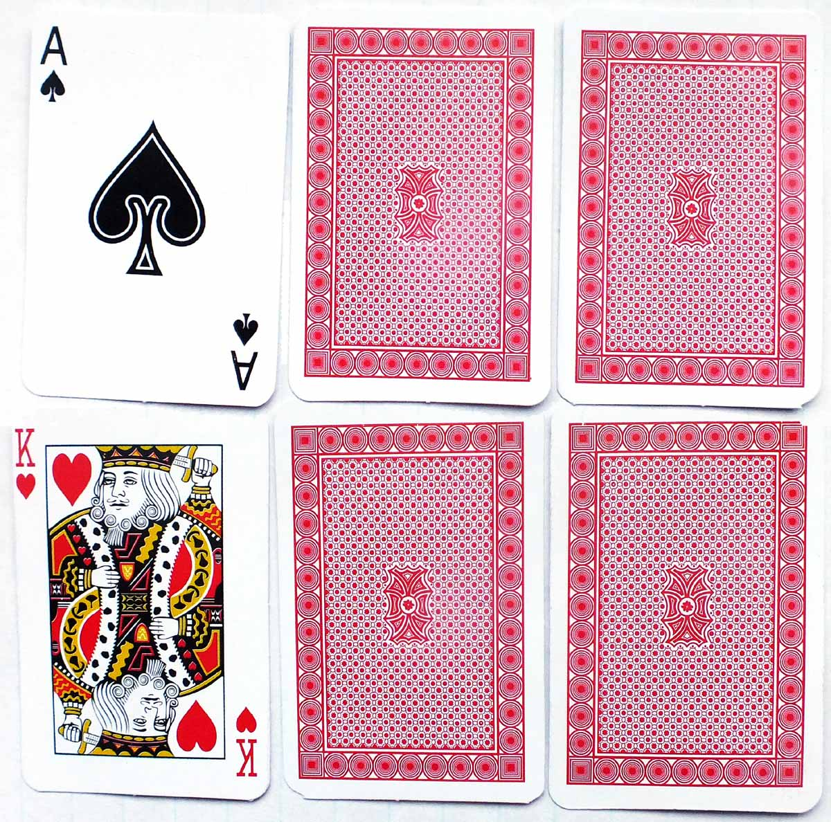 """Magic Poker Cards"" found inside Christmas cracker, 2018"