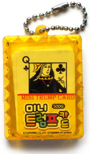 Mini Trump Card, ©Popcorn Co. Ltd, designed in Korea, 2011