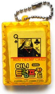 Mini Trump Card, ©Popcorn Co. Ltd, designed in Korea, 2011