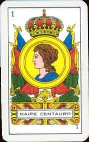Naipe Centauro c.1980