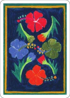 back of cards, Patia Te Pere - The Big Deal