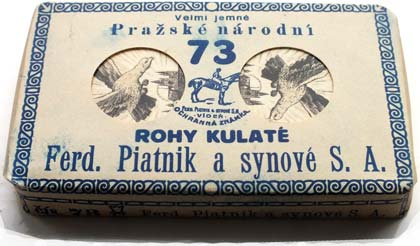 Czech Hussite pack, printed in Prague by Ferd. Piatnik & Synové S.A., c.1927