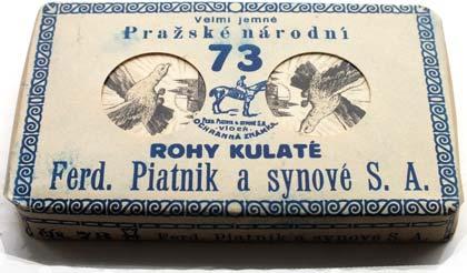 Czech Hussite pack, printed in Prague by Ferd. Piatnik & Synové S.A., c.1927