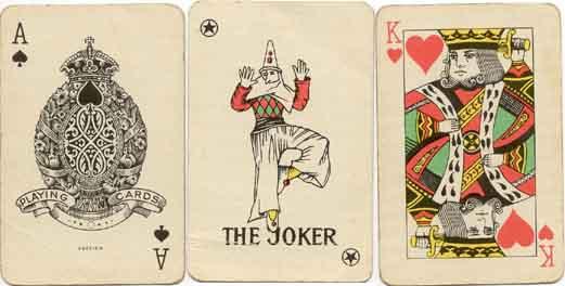 No.240 'Casino' playing cards manufactured by Obchodní Tiskárny, 1955