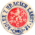 Czech tax stamp