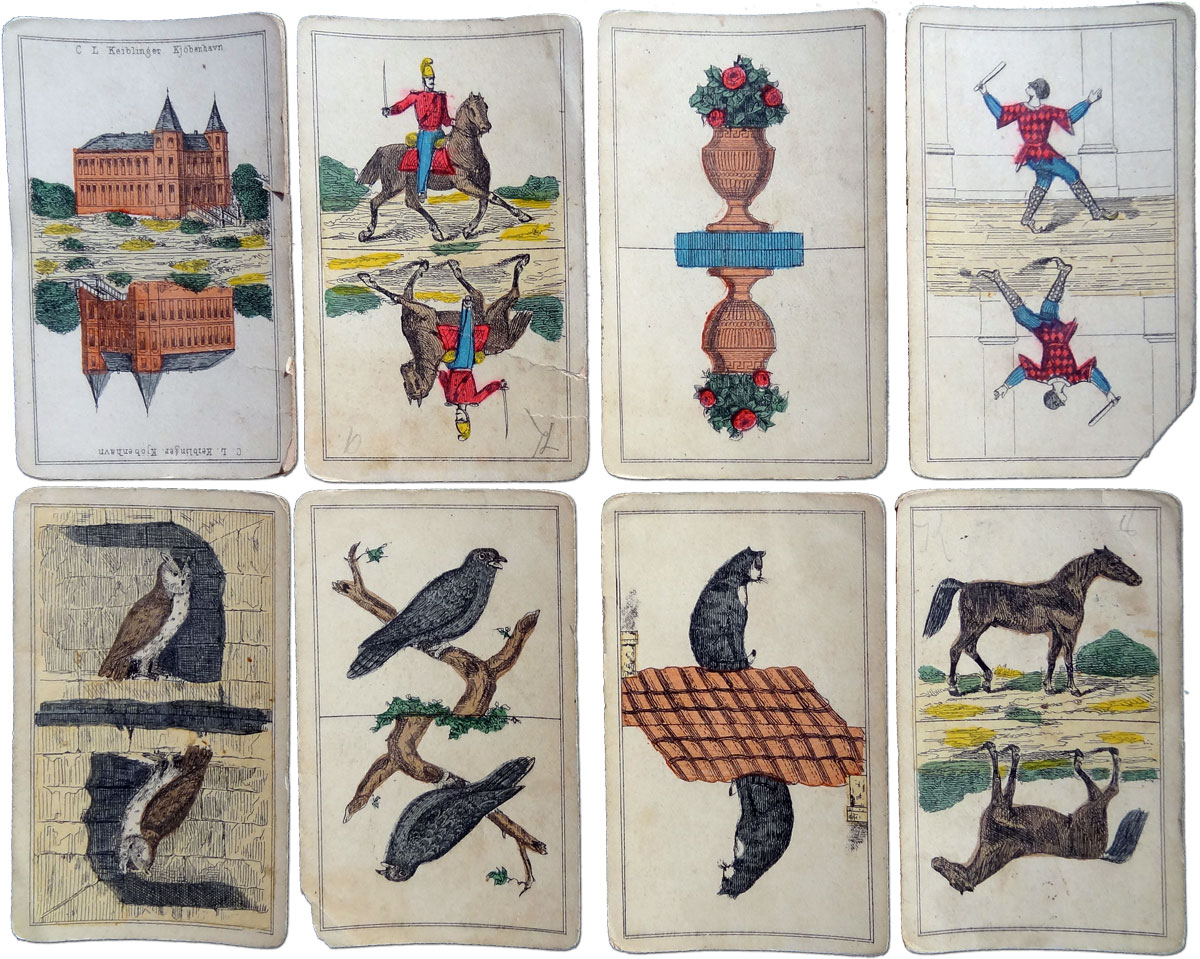 Gnav game made by C.L.Keiblinger, Copenhagen c.1860