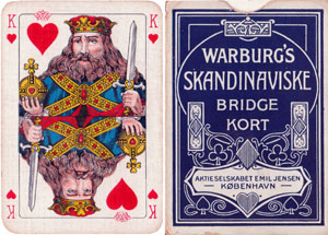 Warburg's Skandinaviske Bridge Kort
