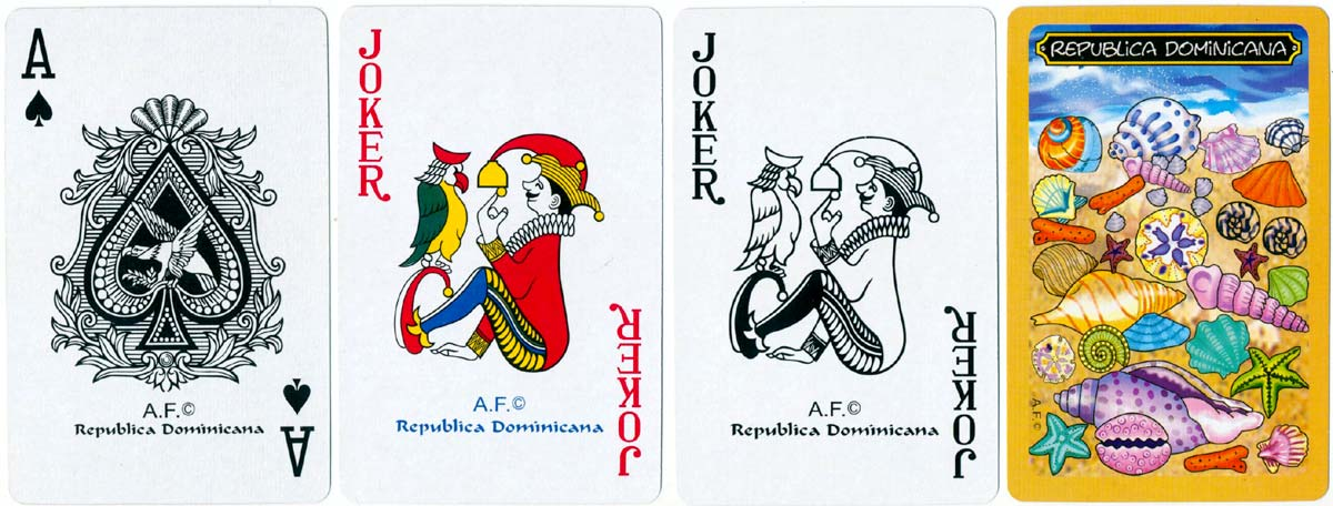 Dominican Republic souvenir playing cards © A.F.