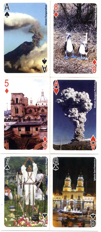 Naipe Mi Ecuador Turístico souvenir playing cards