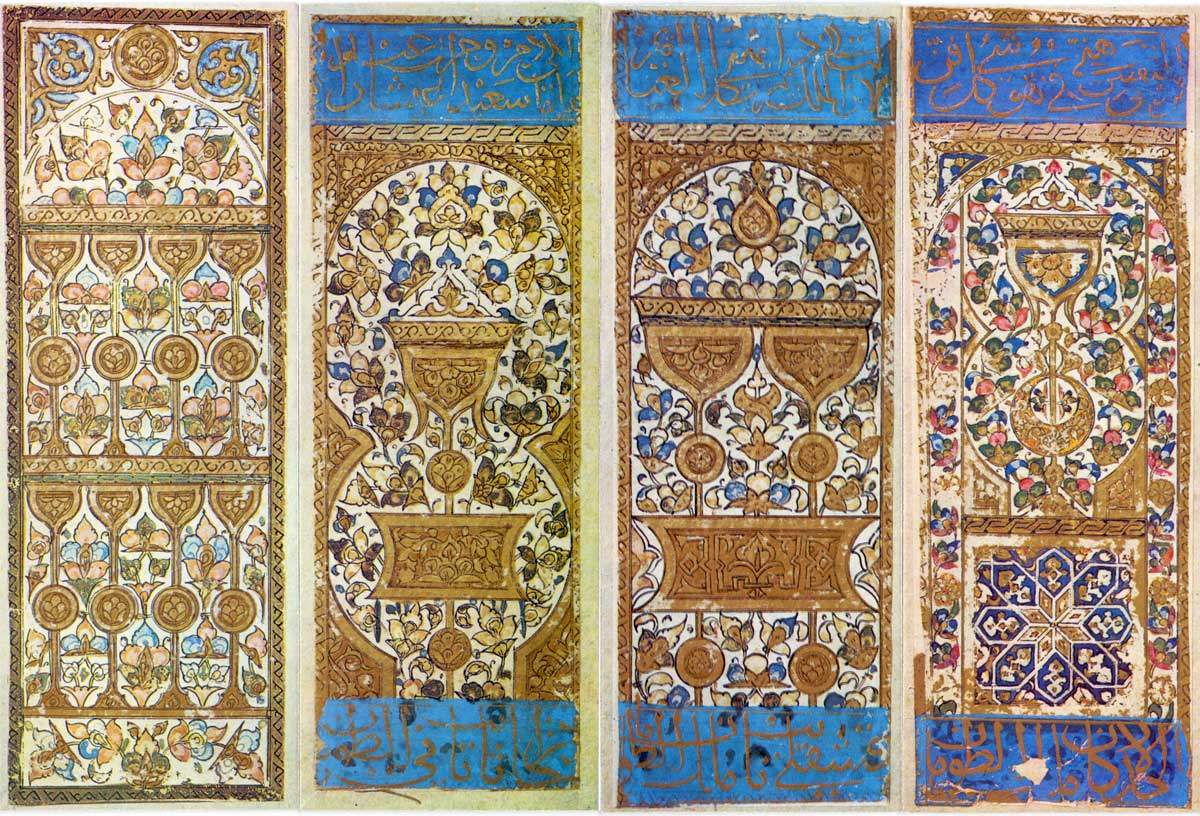 Hand-drawn and hand-painted Mamluk Playing Cards, XV or early XVI century