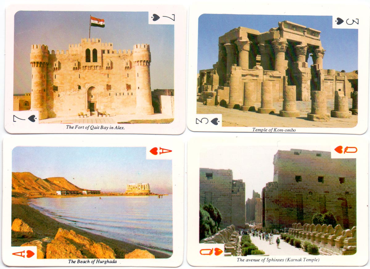 Souvenir from Egypt - the home of lovely memories - 54 colour photos, c.1980