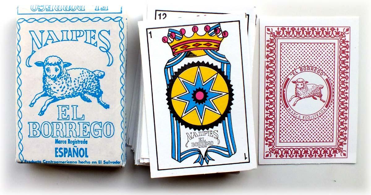 Naipes El Borrego