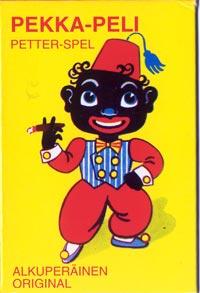 Pekka-Peli card game box, Finland