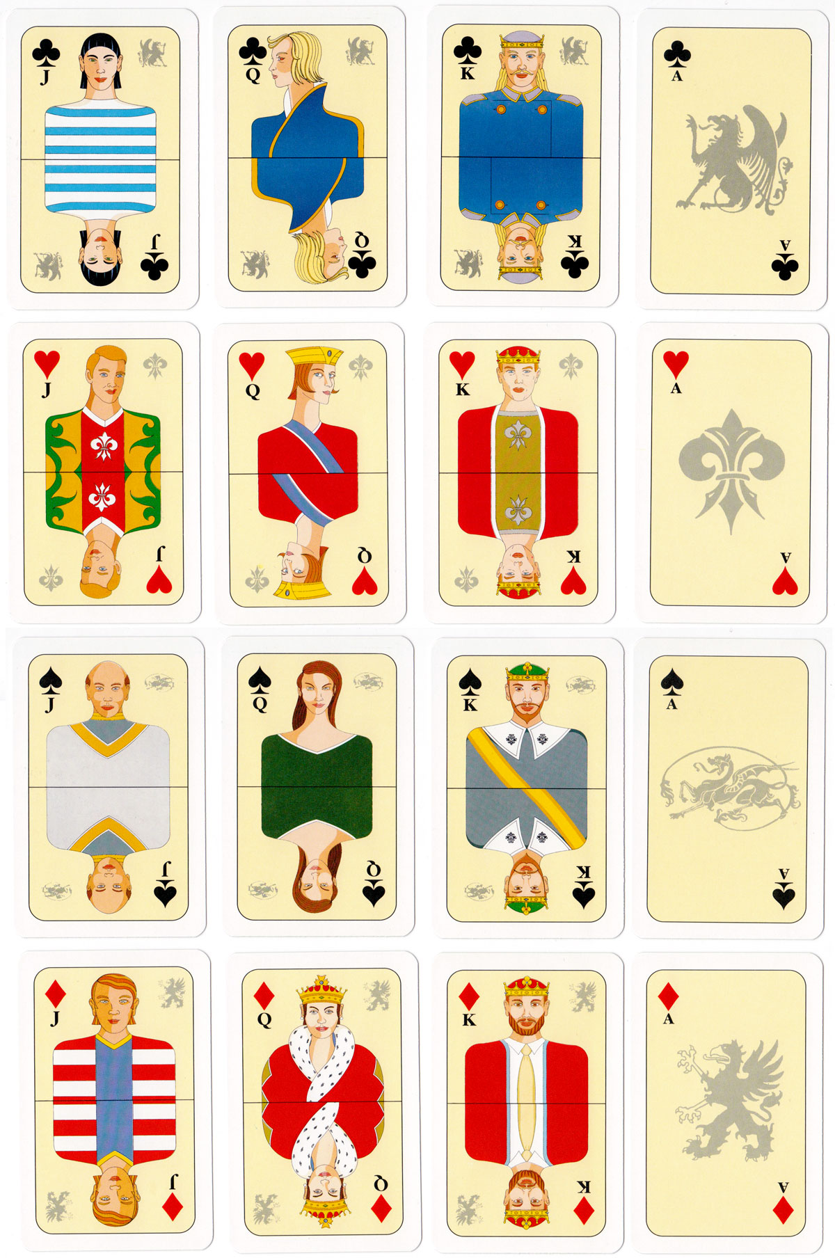 VR-VISA playing cards from Finland, date before 2009