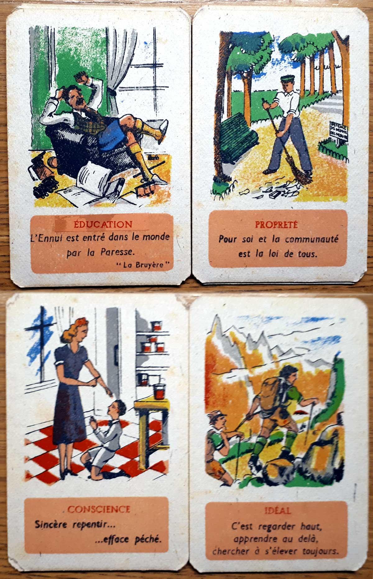Atouts de la Vie created by Madame Lucien Willemetz, c.1940