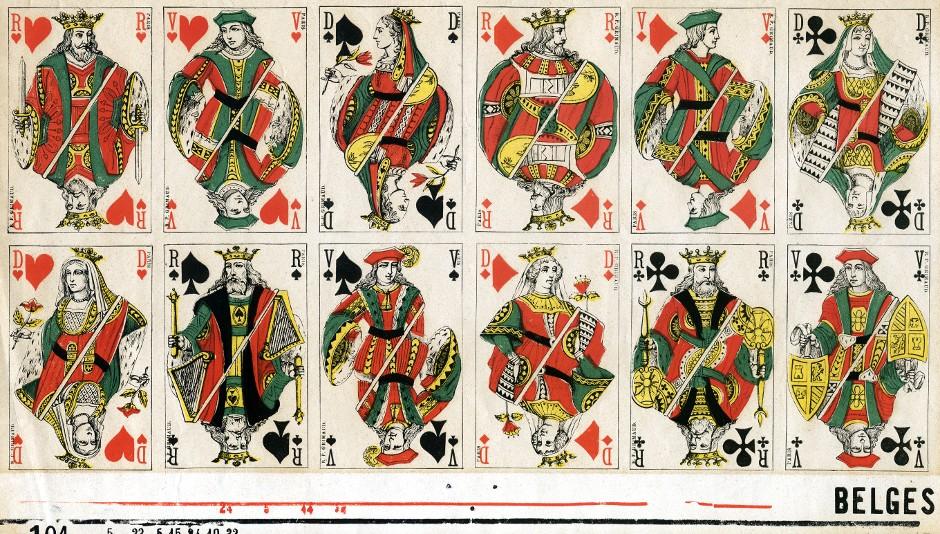 Belgian 'Genoese' pattern