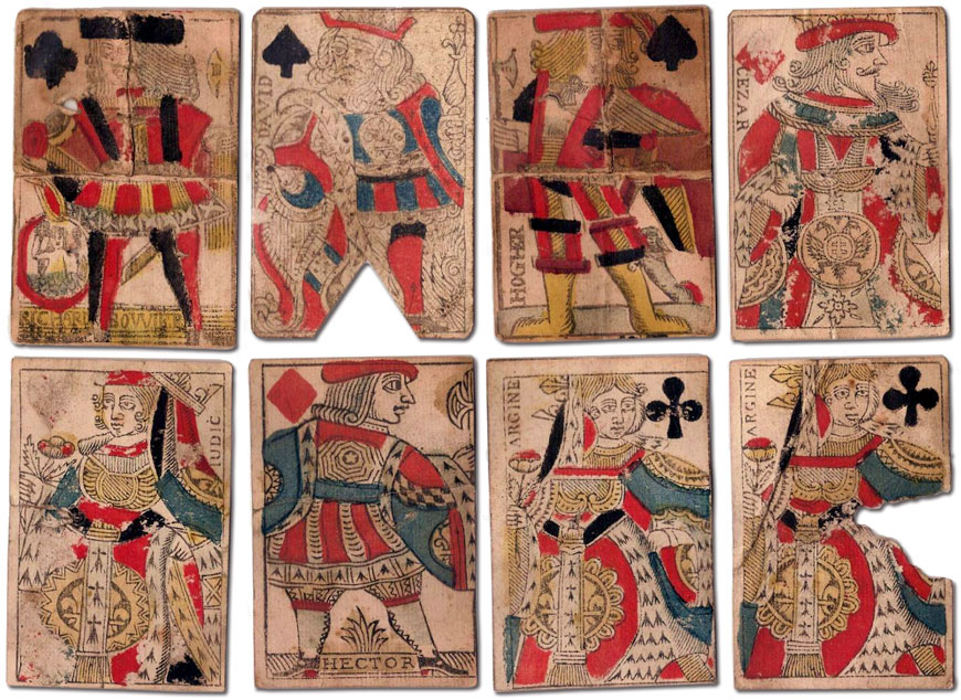 Seventeenth century French playing-cards, Richard Bouvier