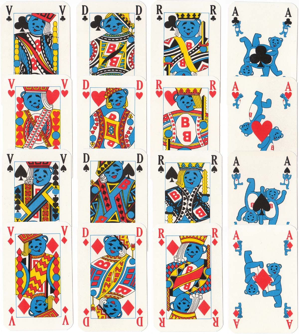"""Butagaz"" playing cards, c.1976"