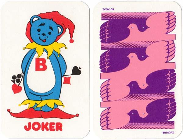 """Butagaz"" playing cards, c.1976"