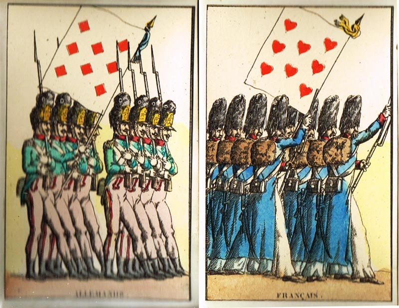 Jeu des Drapeaux c.1816