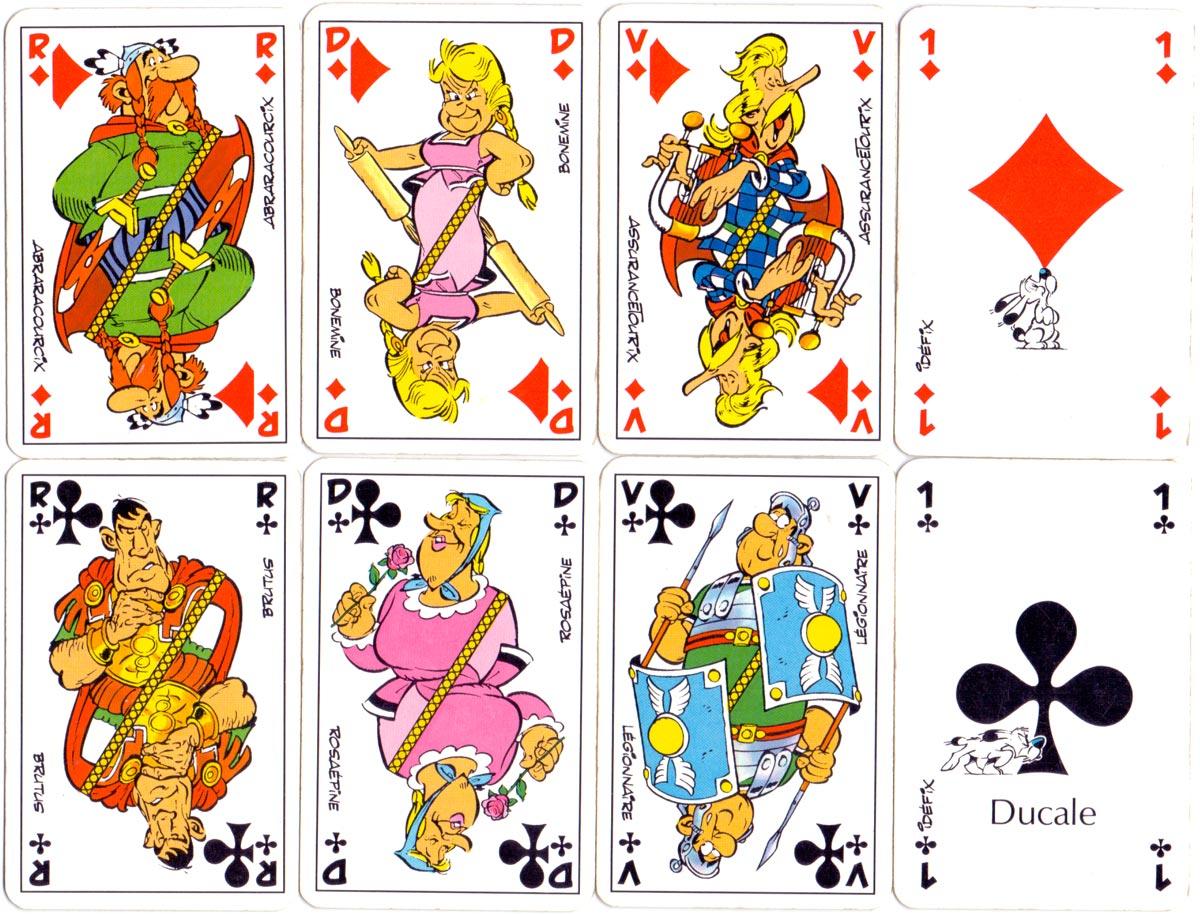Astérix Cartes à Jouer published by Ducale, 1987. © Ed.Albert René / Goscinny-Uderzo