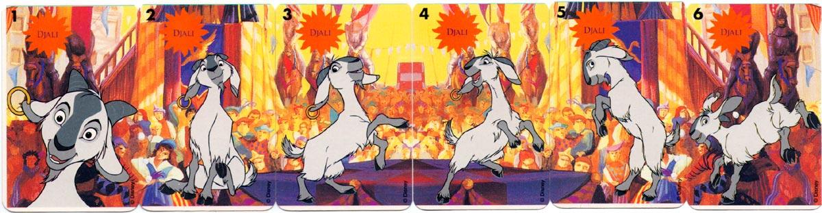 """""""Le Bossu de Notre-Dame"""" card game published by Ducale (France Cartes), c.1998 ©Disney"""