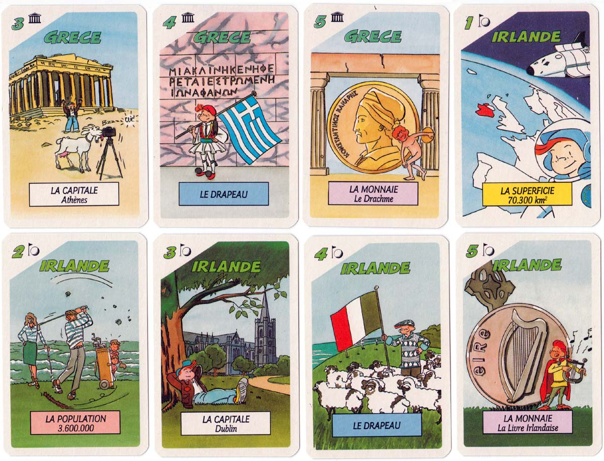 Eurotrotter by France Cartes under their Ducale title, c.1980s