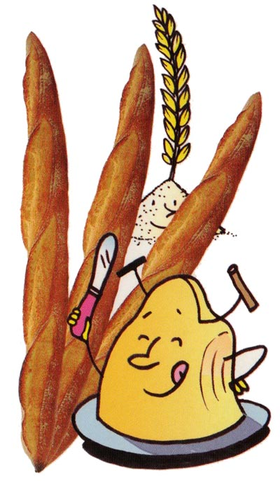 Festival des Pains (Bread Festival) Artisan Boulanger, c.2003