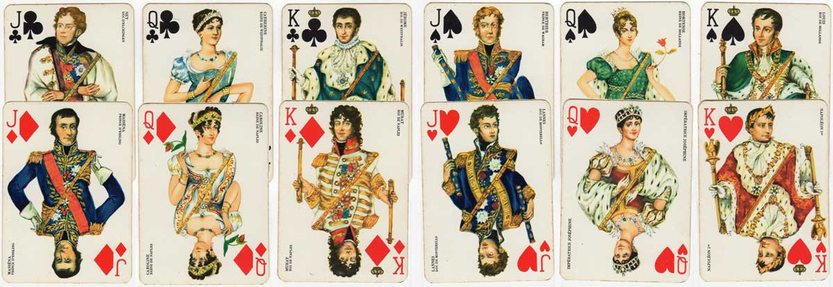 deck created by Matéja celebrating the bicentenary of the birth of Napoleon (1769-1969)