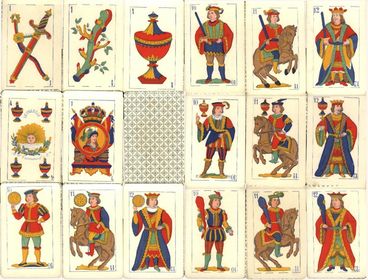 Grimaud Spanish pattern, c.1880