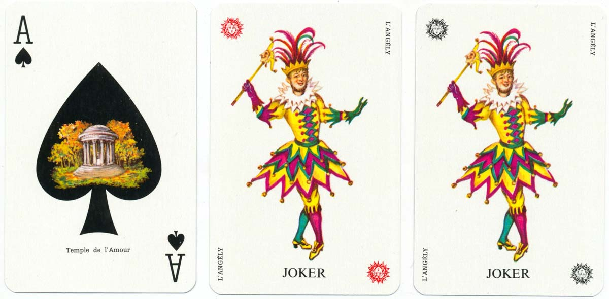 Versailles Playing Cards created by Matéja and printed by B. P. Grimaud, c.1970